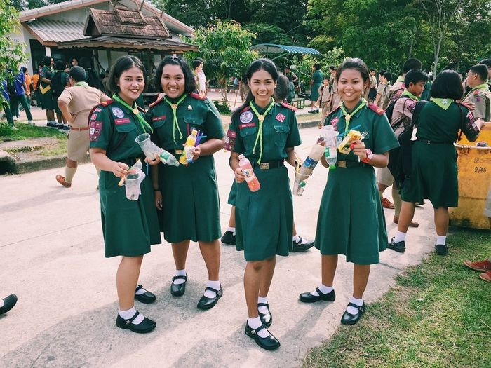 ลูกเสือ Education Student Happiness Real People Outdoors Scout Scouting