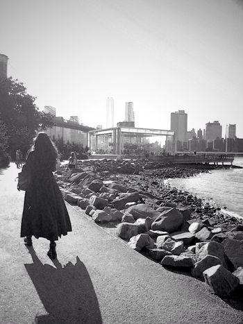 The shadow knows. EEA3-New York City EEA3 DUMBO Jane's Carousel. Black & White EyeEm Best Shots