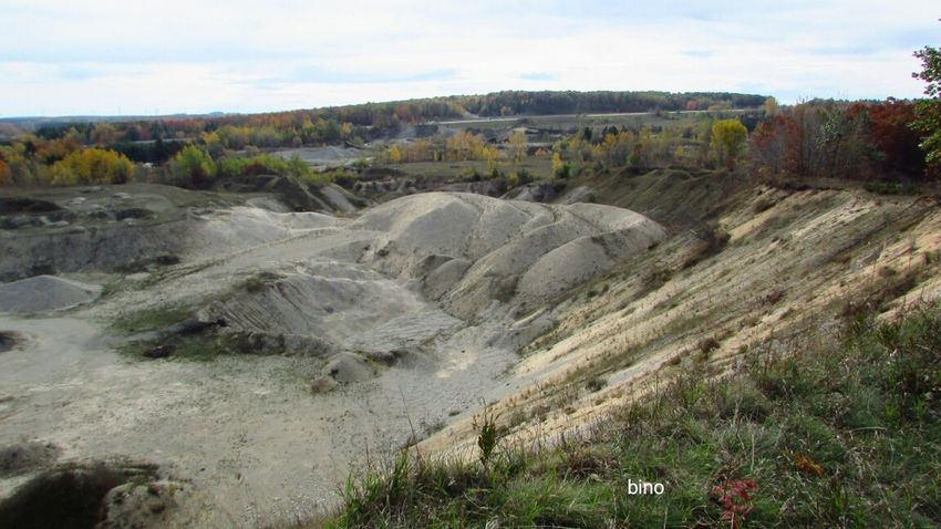 Out Shooting With Family Members Fall Shooting Quarry Gravel Pit Very Deep Cool Places Cadillac Michigan