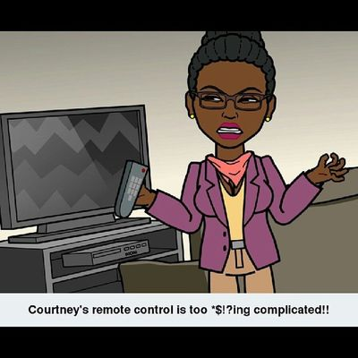 True story...but look at my chest tho!!! LLS Bitstrip Bitsrips StupidTVRemote ComcastCable PerkyGirls ThelmaAndLouise
