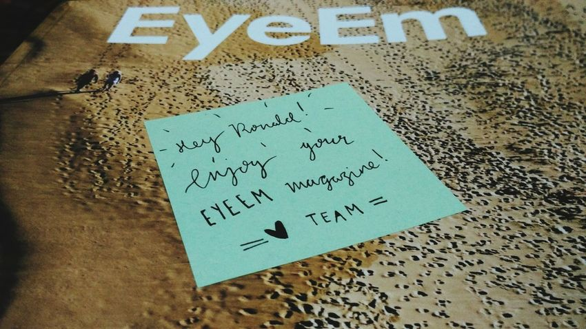 EyeEm Magazine Vol 1 finally arrived. Super cool...big thanks to EyeemTeam and especially Brogues. Warm greetings from Manado - North Sulawesi, Indonesia.