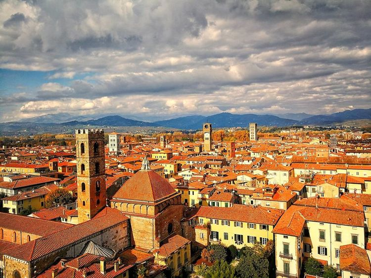 Lucca Lucca Italy Lucca 2017 Toscana Panorama Panoramic Photography Panorama View Architecture Tourism Sky