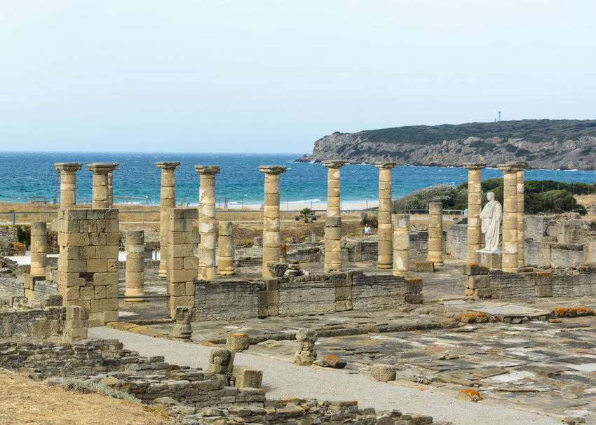 Andalusia Baelo Claudia Cadiz Playa De Bolonia Roma SPAIN Tarifa Travel Ancient Ancient Civilization Architecture Clear Sky Day España History Horizon Over Water Nature No People Old Ruin Outdoors Roman Empire Sea Tourism Travel Destinations