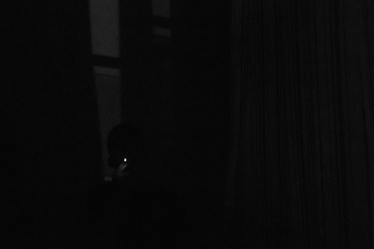 2018.10.29 Night Dark No People Space Close-up Moon Nature