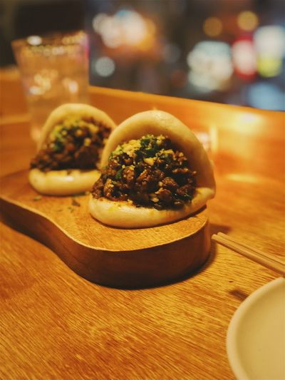 Bao Dumpling  Baozi Taiwanese Food Chinese Food Bao Food And Drink Food Table Indoors  Ready-to-eat Still Life Freshness Plate Focus On Foreground Close-up Healthy Eating