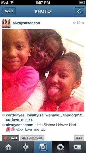 Me my older sistah nd lil sistah