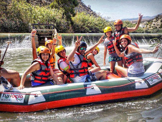 RePicture Friendship Descenso del Río Segura. Rafting Sport Summer River Friends Beautiful Day Amigos Dia Perfecto Perfect Day INSTAGRAM: cristobalmolero