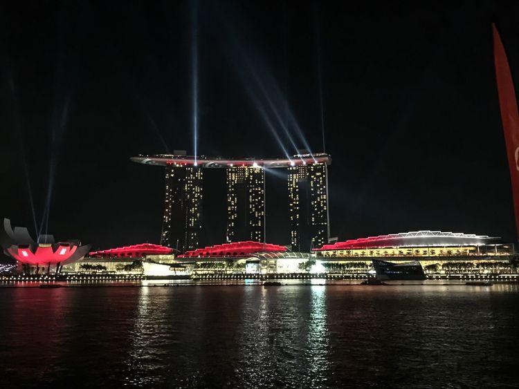 Run up to SG50 celebrations at Marina bay sands Marina Bay Sands Sg50