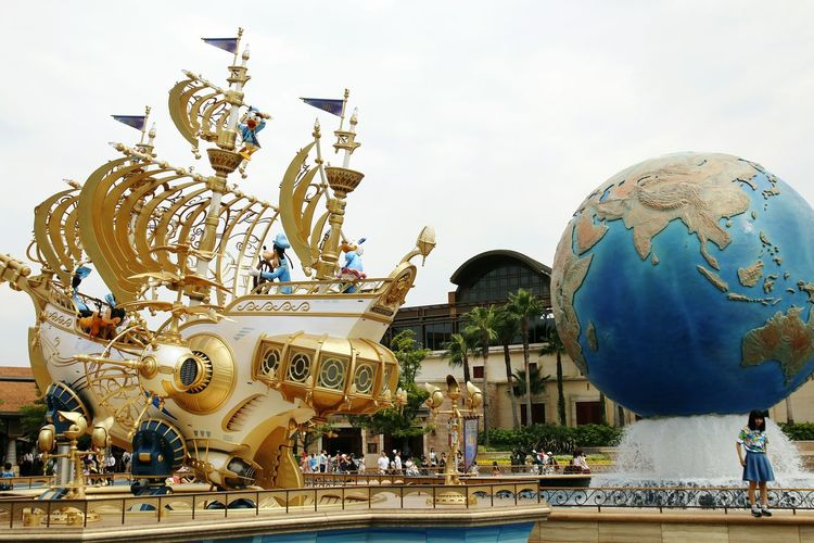 Boat 東京ディズニーランド (tokyo Disneyland) 東京ディズニーランド 東京ディズニーランドホテル Disneyland Disneyland Tokyo Disneyland Tokyo Resort Disneyland<3 Tokyo Disney Land Japan Disneytokyo Tokyo Disneyland Disney Disney Sea Japan Disney Sea Tokyo Disney Sea Tokyo DisneySea City Arts Culture And Entertainment Sculpture Statue Sky Architecture