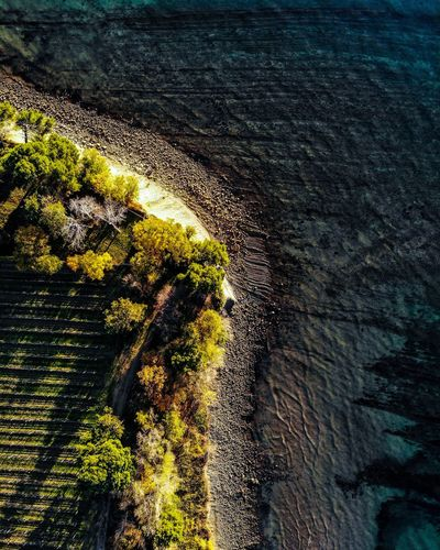 Koper Slovenia DJI X Eyeem Dji Dronephotography Aerial Photography Water Sea Beach Backgrounds Sunlight High Angle View Humanity Meets Technology
