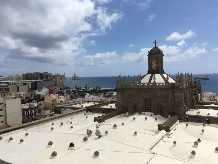 Las Palmas De Gran Canaria Sky And Clouds Sky Traveling Travel Travel Photography Cathedral Las Palmas Streetphotography Street Photography The Cathedral Of Santa Ana