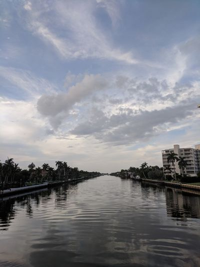 Water Canal Architecture Beauty In Nature Building Exterior Built Structure City Cloud - Sky Nature No People Outdoors Reflection River Scenics - Nature Sky Tranquil Scene Tranquility Tree Water Waterfront