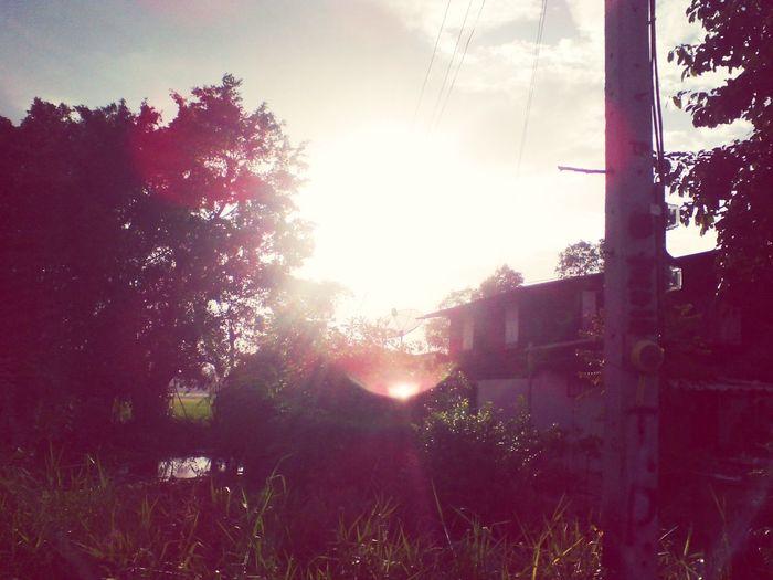 อากาศ ยามเย็น :)