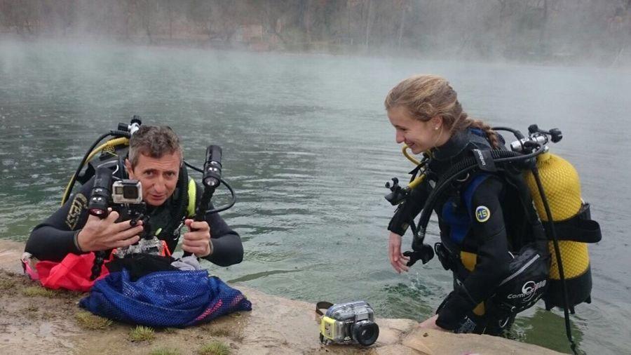 Diving Termallagoon
