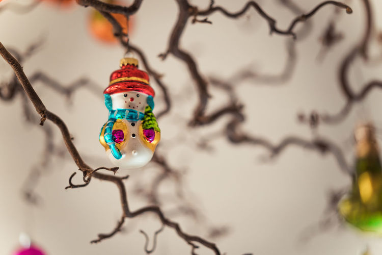 Christmas Decoration Christmas Decoration Christmas Festive Decoration Art And Craft No People Close-up Multi Colored Creativity Representation Indoors  Human Representation Focus On Foreground Craft Selective Focus Celebration Mammal Tree Glass - Material Still Life Toy