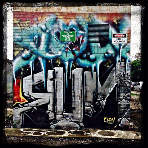 Graffiti burbs