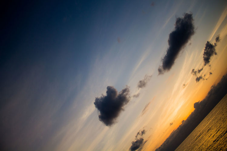Beauty In Nature Blue Cloud Cloud - Sky Hachijo-island Hello World Japan May Nature Near And Far No People Open Edit OpenEdit Orange Outdoors Photograph Photography Scenics Sea Sky Sunny Day Sunset Tokyo World 八丈島