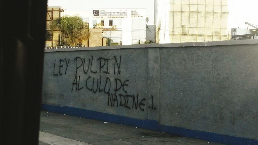 No A La Ley Pulpin Peruvian Igersperu Streetphotography Lima Hello World ?