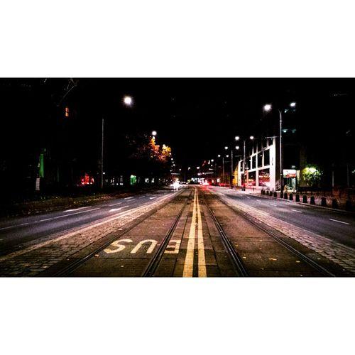 Buses & Trams Bus Bus Lane Tram City Mycity Lights Picofthenight Street Ulica światła Swiatlamiasta Night VSCO Vscocam Kochamwroclaw Miasto Miasto Nocą Colorful Colours