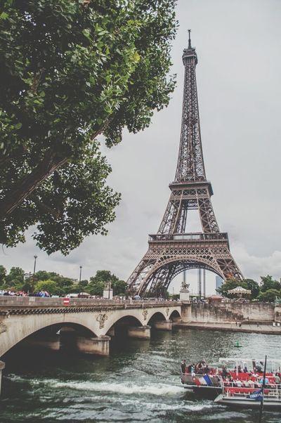 Paryż Paris Sekwana Tree Most Tour Eiffel Eiffel Tower Beautiful Cityscapes Water