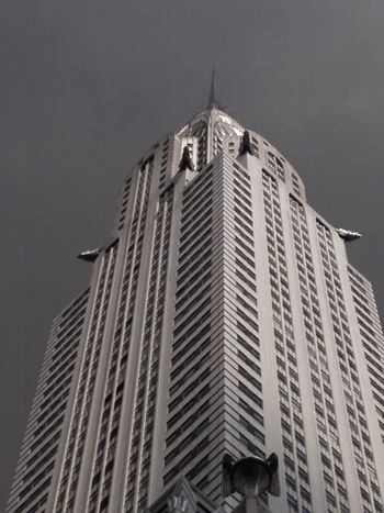 Low Angle View Modern Architecture Skyscraper Building Exterior Outdoors New-york My Year My View