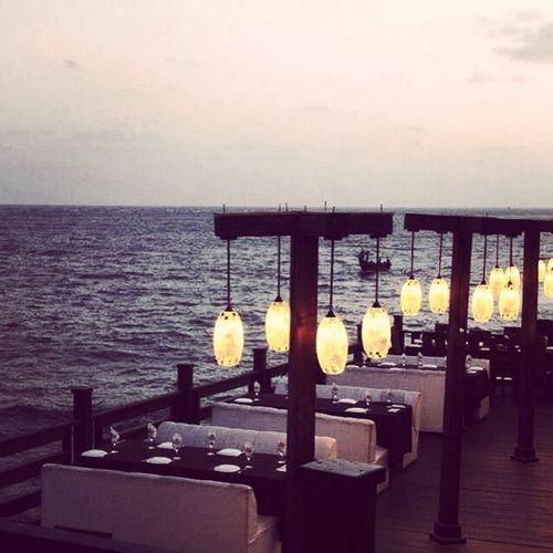 Sunset Seaview Restuarant Kolachi 2Darya Fantastic Romantic Supertastic 😍😍😍😍 First Eyeem Photo
