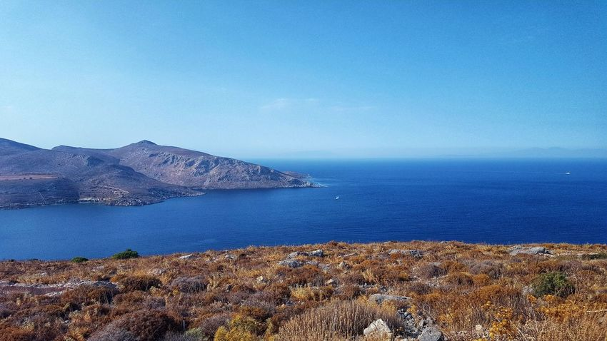 Aegean Sea Aegean Islands Greece GREECE ♥♥ Greece Photos Greece Islands Leros Leros Island Leros Greece Blue Blue Sky Blue Ocean Blue Sky Blue Water Water Sea Blue Clear Sky Sky Horizon Over Water Rocky Coastline Rugged Coastline Ocean Coastal Feature Rock Formation Calm Rocky Mountains Seascape Coast