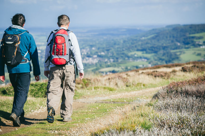 Activity Country Countryside Day Out England Exercise Fitness Fresh Air Healthy Hiking Hills Landscape Moors Nature Otley Outdoors Path People Rambling Trail View Walkers Walking Yorkshire