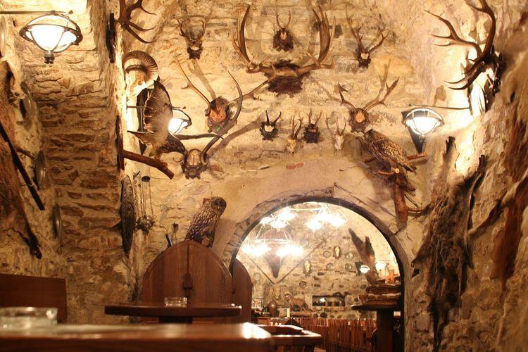Entourage Restaurant Czech Republic Prague Forest Animals Hunters Place The Week On EyeEm