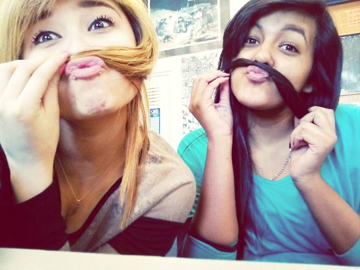 Our mustaches :3 - fuck with us c;