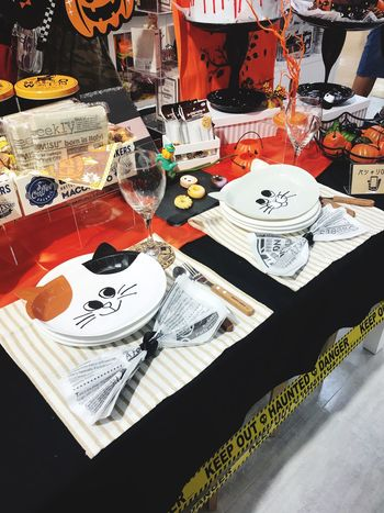 Halloween EyeEm Halloween High Angle View Table Still Life Indoors  Text No People Paper