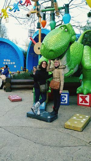 Disneyland Rex Toystory Dinosaure