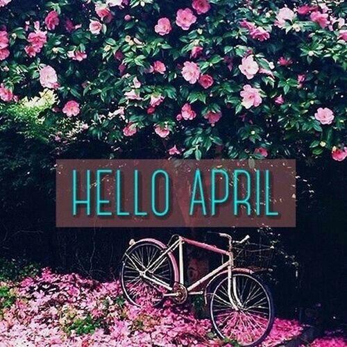 Hello april .. April Helloooooo Newmonth Springtime Happyapril