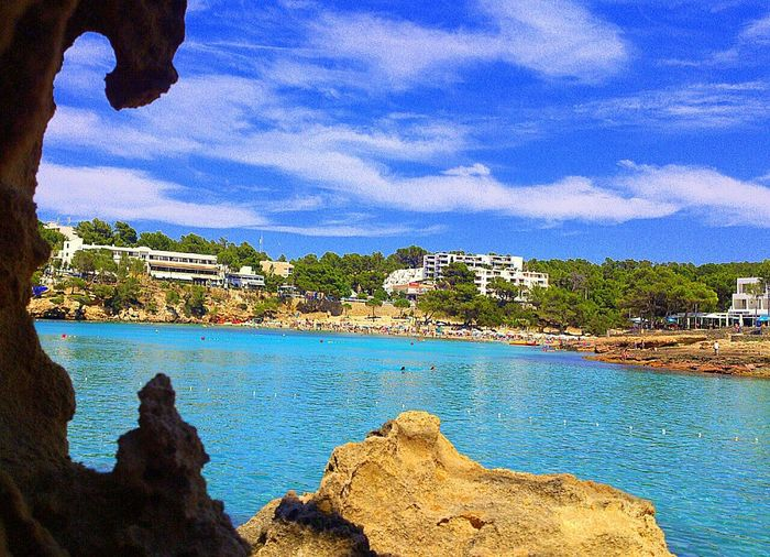 Portinax Ibiza España. Smartphonephotography Viajes  Viajando Travel Paisaje Marino Sea View Creative Light And Shadow