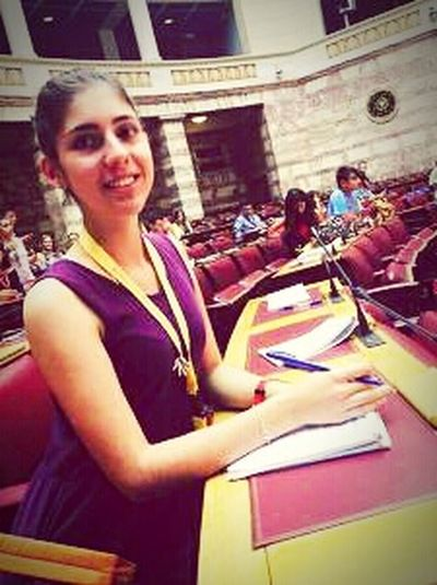 Self Portrait Around The World Athens, Greece Parliament Check This OutGreece Teenagers  Yellow Taking Photos Great Experience Purple Dress:) Asking Questions Enjoying Life