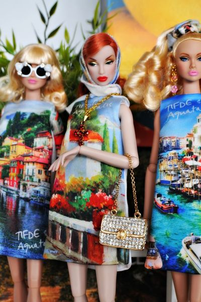 some of my table gifts to the Italian Doll Convention 2016 in Milan Barbie Detail Diorama Dolce & Gabbana Doll Doll Photography Fashion Fashion Doll Fashion Photography Fashion Royalty Fisiomilano IndoorPhotography Indoors  Italia Miniature Style Stylish