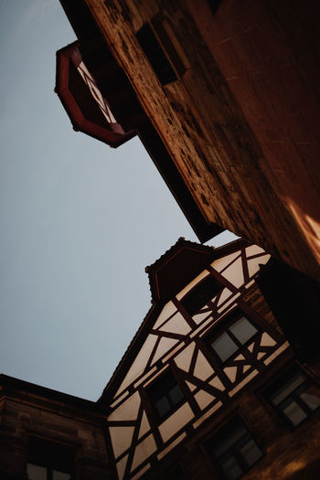 Historic Village Buildings Architecture Built Structure Building Exterior Building Low Angle View Sky Residential District Day No People Nature Window House Outdoors Historical Historical Building History Fachwerk Germany Old House Light And Shadow Village City Sightseeing Things To Do