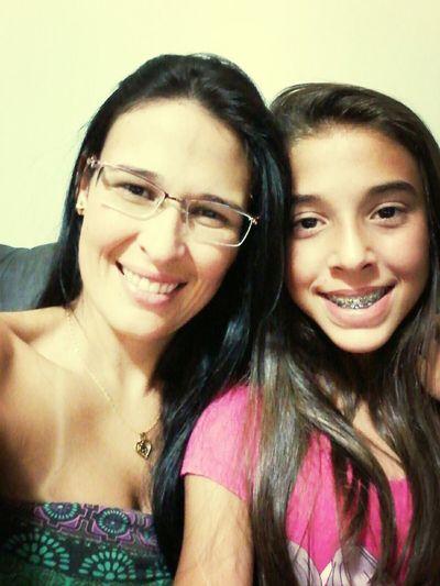Minha mãezinha que amoo muitoo!! Hi!