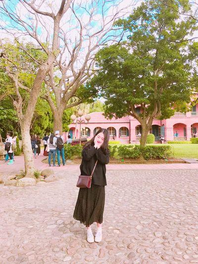 대만여행 Taiwan Full Length Portrait Tree Looking At Camera People One Person Me Travel Happy Good Weather Only Women One Woman Only Front View Outdoors Standing Day Adult Adults Only Well-dressed