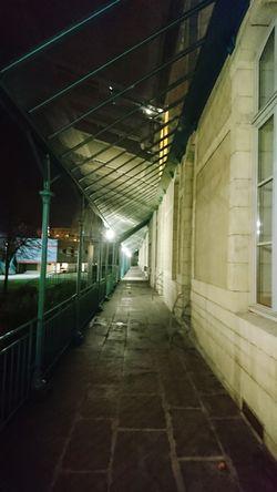 Lignes de Fuite 2 Indoors  No People Architecture Built Structure Night Illuminated City