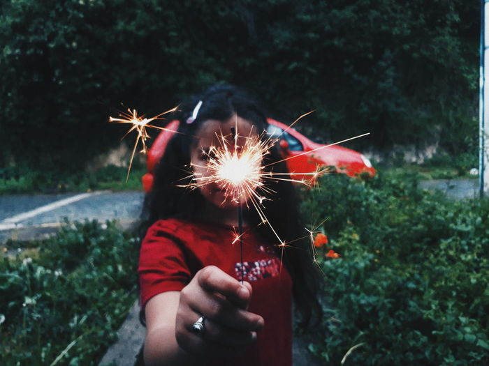 🍃Chispas❤ Human Hand Human Body Part Firework - Man Made Object Holding One Person Celebration Sparkler