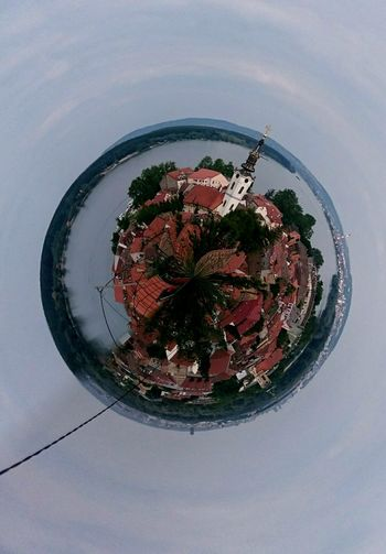 360 Panorama Walking Around The City  Belgrade Zemun