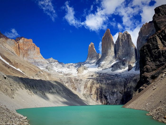 Torres del Paine EyeEm Enjoying Life Patagonia Lake Landscape Photography Day Amazing Lifestyles Eye4photography  Torres Del Paine Chile Nature Torres Del Paine National Park Travel Travelling Patagonia EyeEm Nature Lover EyeEm Best Shots EyeEm Gallery Sky Beauty In Nature Scenics - Nature Nature Tranquil Scene Cloud - Sky Mountain Outdoors Rock Land