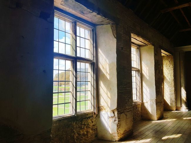 Kirby Hall Northamptonshire Architecture Sunlight Interior Photography Window History