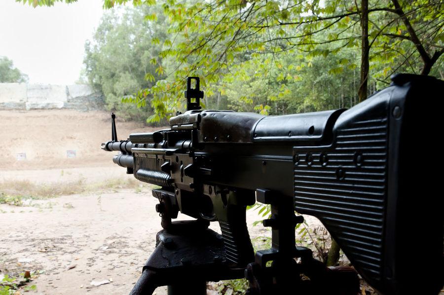 M60 Machinegun - Vietnam M60 Vietnam Automatic Gun Machinegun Military Rifle Saigon Weapon