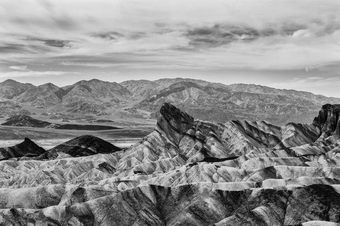 Blackandwhite Black & White Black And White Death Valley Zabriskie Point California