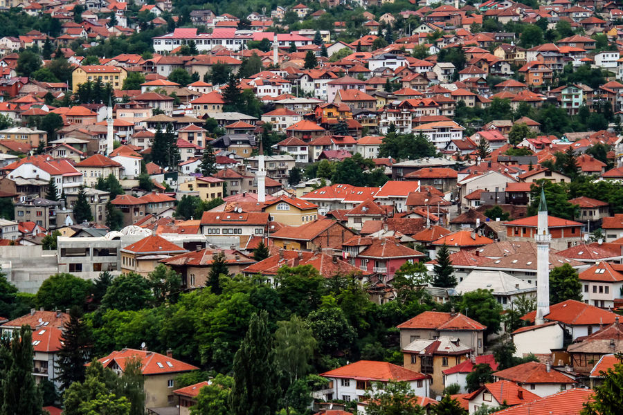Architecture Building Exterior Built Structure Day Minaret Outdoors Roofs Of Sarajevo Sarajevo Bosnia View From Above View From Above Is Beatiful View Of The City