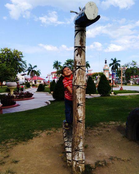 Park - Man Made Space Park View Plaza Kid Boy Tree Sky Cloud - Sky