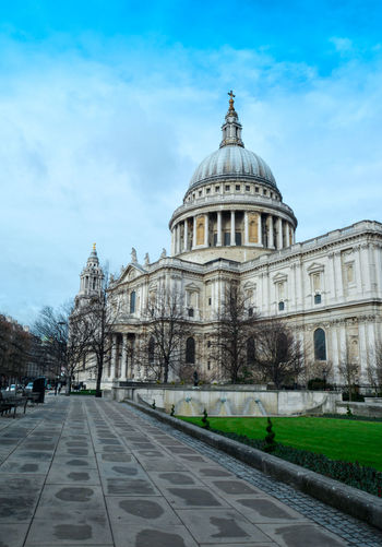 Architecture Dome Glass Historic History Leading Lines London Sky St Paul's Cathedral Pmg_lon