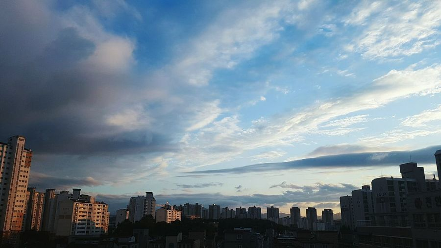 Cloud - Sky Clouds And Sky Cloud Cloud South Korea Cityscapes City Beautiful Sky